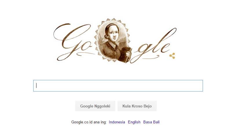 Google Pun Merayakan Hari Kartini