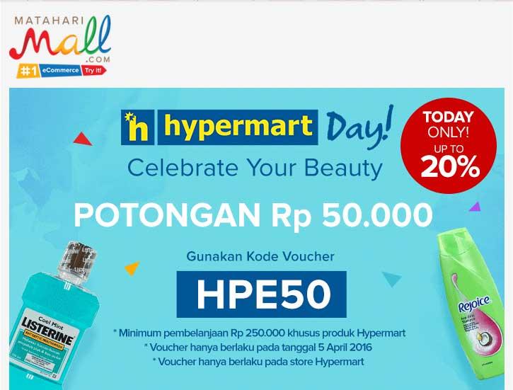 Hypermart Day di MatahariMall.com