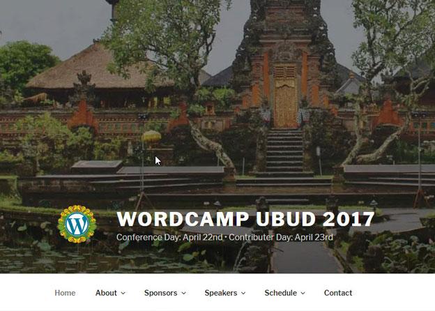 Menanti WordCamp Ubud 2017