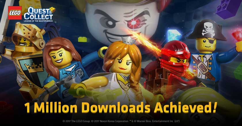 LEGO Quest & Collect Lampaui 1 Juta Download