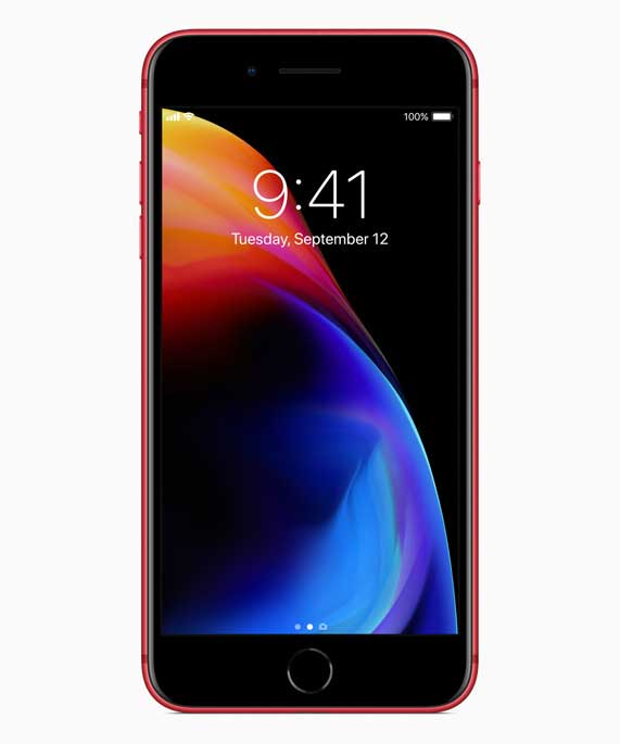 Apple Hadirkan iPhone 8 dan iPhone 8 Plus (PRODUCT) RED Special Edition