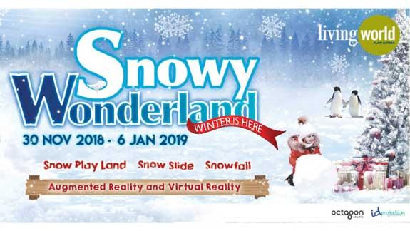 Beli Tiket Snowy Wonderland Secara Online